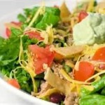 START!-tackle-taco-salad at hotcurrysauce.com