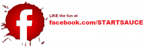 Facebook logo red